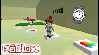 ESCAPE DO APPLE WATCH - ROBLOX