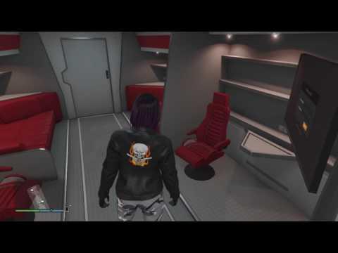 GTA V Online Gunrunning Mobile Operations Center (MOC) Options