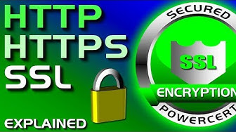 SSL, TLS, HTTP, HTTPS Explained