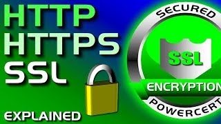 HTTP, HTTPS, SSL / TLS Explained
