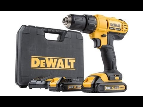 Test Tool Dewalt DCD771C2 18V Lithium-Ion Compact Drill/Driver Kit