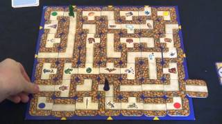 Labyrinth - A Race for Treasure in a Moving Maze