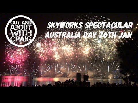 Skyworks Spectacular Perth Australia Day 26TH January 🇦🇺
