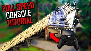 ADVANCED Console Tutorial: 4 Layer Ramp Rush (Full Speed) Fortnite Battle Royale