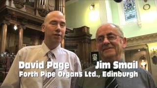 Brindley and Foster Organ Restored in Edinburgh, Scotland