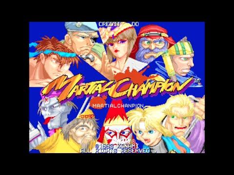 Martial Champion - Arcade Gameplay - Konami 1993