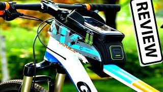 ROCKBROS Велосипедная непромокаемая сумка на руль для телефона | обзор