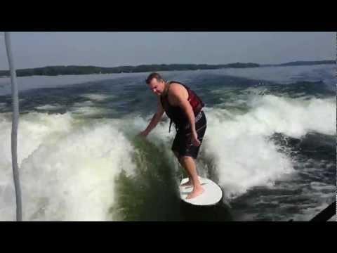 Joe Costner Wake Surfing