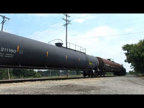 CN Mixed Freight at CN Junction Memphis, TN