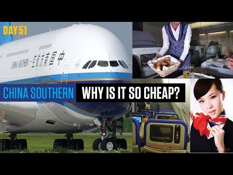 China Southern Review | ECONOMY | Sydney to Guangzhou - A380