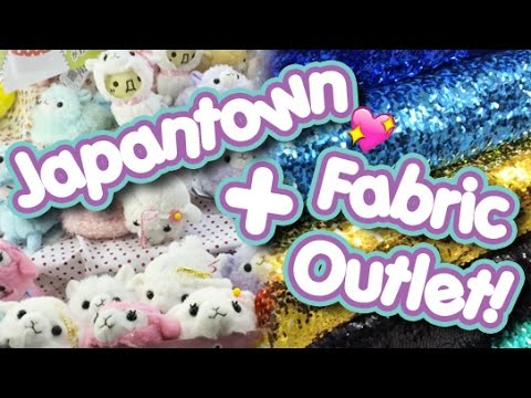San Francisco Japantown + Fabric Outlet