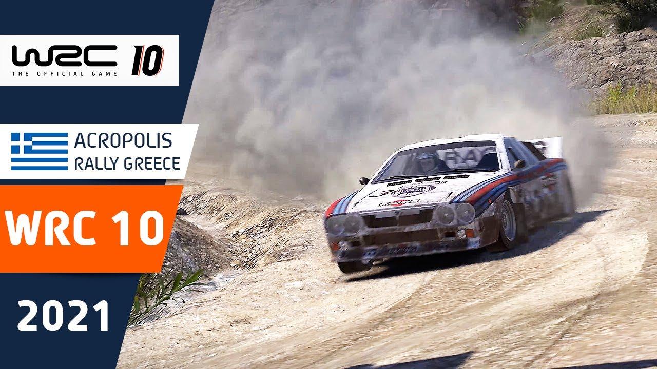 WRC 10 - Acropolis Rally Gameplay!