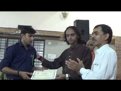 011 Tabla Learning Class Completion Certificate By Pt  Makarand Tulankar Pune at Amravati
