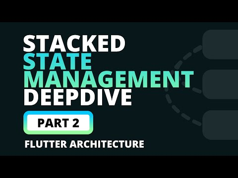 State Management with Stacked in Flutter