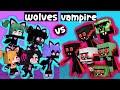 VAMPIRE BOYS VS WOLVES GIRLS MONSTER - XDJAMES ANIMATION