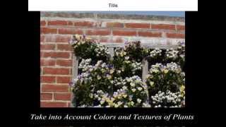 Vertical Wall Gardening | Vertical Gardening | Diy Vertical Gardening | Ideas | How To