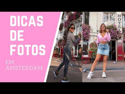 FOTOS DE BLOGUEIRA EM AMSTERDAM! Dicas, poses e mais! Ft. Carol Domingos