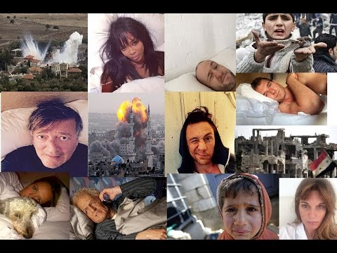 #WakeUpCall Selfie Celebrities Support Syrian People-Challenge for Charity!