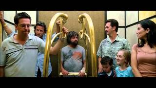 The Hangover Unrated - Tiger Elevator Scene [HD]