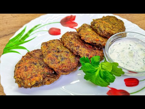Niemand glaubt, dass kein Fleisch in ihnen ist! Saftige vegetarische Burger Rezept! Vegane Rezept