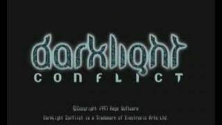 Darklight Conflict Intro Sega Saturn PAL Version