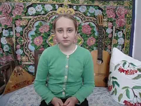 Изображение предпросмотра прочтения – ДарьяРываева читает произведение «Доброе слово» А.Н.Кондратьева