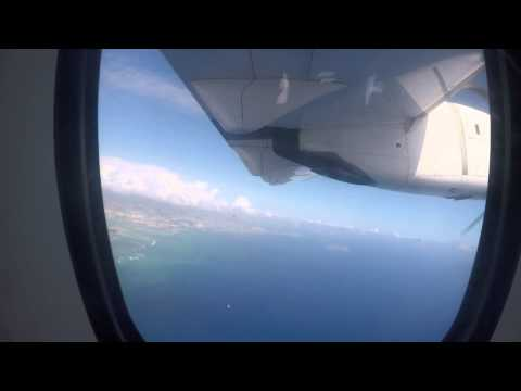 Takeoff from Honolulu International Airport and Landing at Lanai Airport