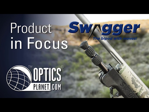 Swagger Bipods The Bipod With Moves - Product In Focus - OpticsPlanet.com