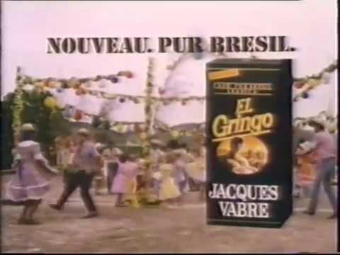 Café Jacques Vabre, El Gringo   Avril 1986 Antenne 2