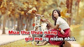 Thu Sầu Karaoke Man mác - Sáng tác Lam Phương