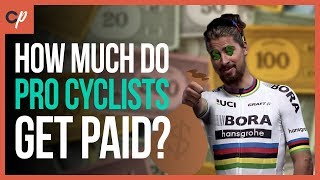 how much do pro cyclists get paid?