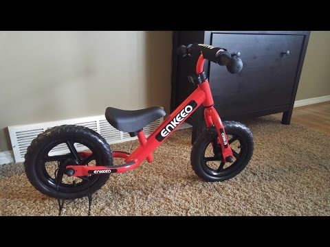 81e03d5153c Enkeeo 12 Sport Balance Bike No Pedal Walking Bicycle with Carbon Steel  Frame