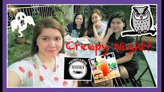 Food Trip with my Cousin's | May Nagparamdam? | CREEPY NIGHT | Simply Mhyles😊💕
