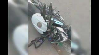 Encontró su moto robada, entregó a supuesto ladrón y le tocó huir de la ciudad