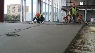 Сухая стяжка ,Технологический процесс изготовления бетонного пола(РАБОТАЕМ ПО ВСЕМУ МИРУ WWW.BRIGADA1.LV +37127065481 ПРИНИМАЕМ ЗАКАЗЫ НА ПОСТРОЙКУ ДОМОВ. РЕМОНТ КВАРТИР . ДИЗАЙН ..., 2015-06-16T04:54:12.000Z)