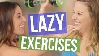 3 Exercise Tools for Lazy People (Beauty Break )