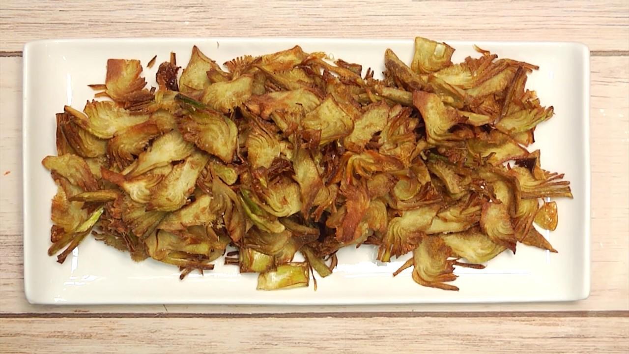 recetas con alcachofas fritas