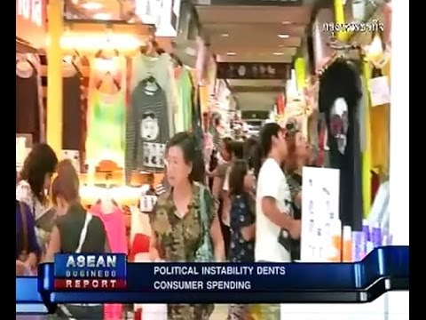 POLITICAL INSTABILITY DENTS CONSUMER SPENDING