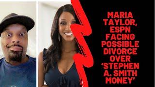 Maria Taylor, ESPN Facing Possible Divorce Over 'Stephen A. Smith Money @MariaTaylor #ESPN