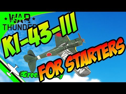 Ki 43 - War Thunder - A fighter for Realistic Battle beginners - (how not to get boom and zoomed)
