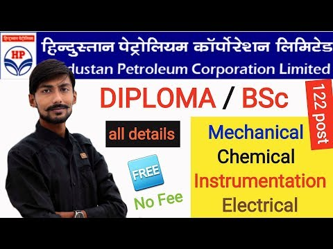 HPCL recruitment 2018 | DIPLOMA / BSc | ELIGIBILITY, SYLLABUS & MY OPINIONS