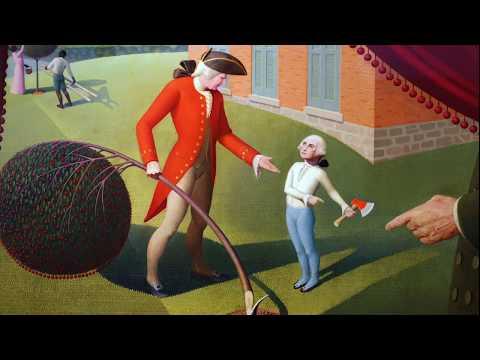 Grant Wood, George Washington and an enduring American myth