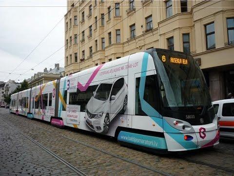 Riga trams 2015