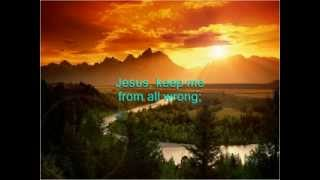 JUST A CLOSER WALK WITH THEE - GOSPEL COUNTRY KARAOKE