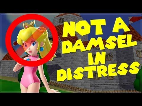Peach is NOT A DAMSEL IN DISTRESS !