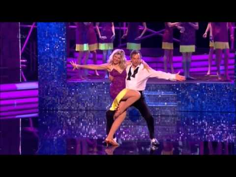 Glynis Barber and Michael Brandon Stepping Out week 3