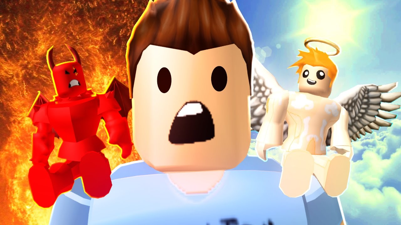 roblox adventures    good vs evil obby    angel or death