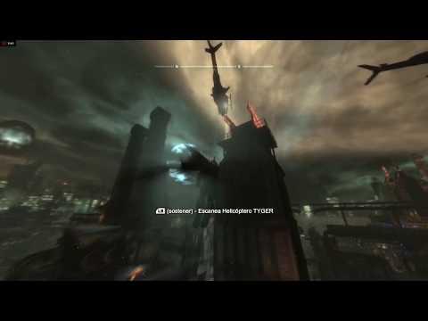 Batman: Arkham city: Escanea los helicópteros TYGER