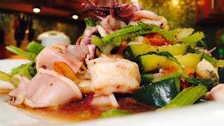 Calamari And Cucumber Stir Fry (dưa Leo Xào Mực Tôm)- Cathy Ha Vietnamese Home Cooking