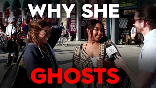 Ghosting!  (Why She Disappears On You) Street Team Interviews